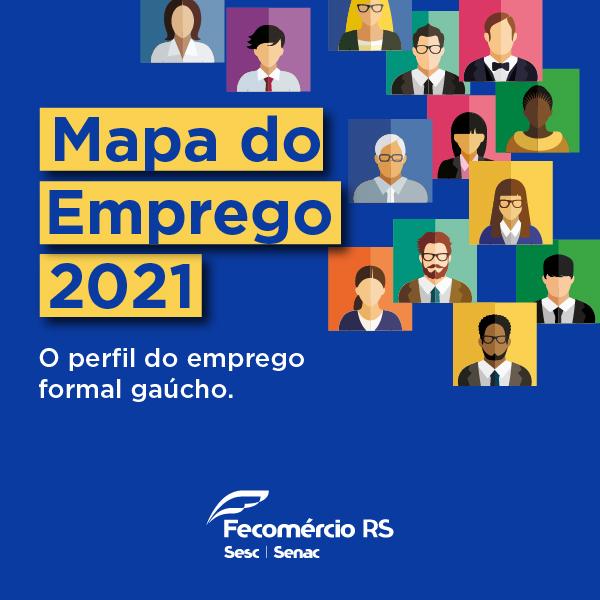 Fecomércio–RS lança 10ª edição do Mapa do Emprego